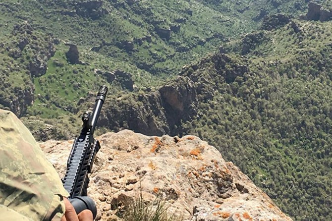 Son bir haftada 56 PKK'li öldürüldü