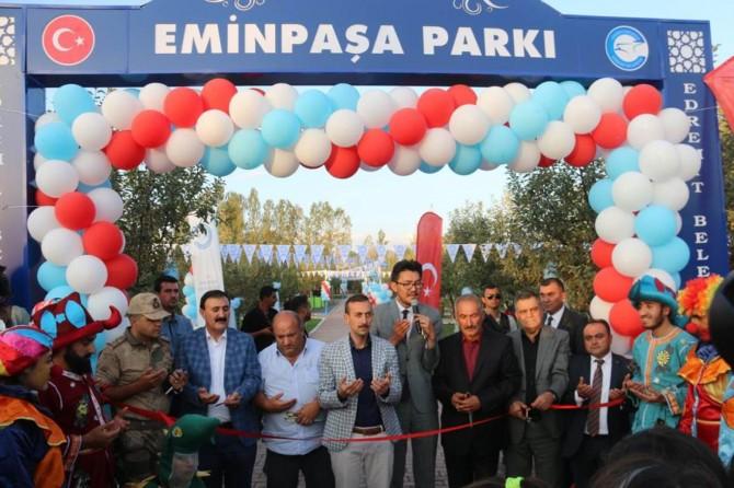 Van Eminpaşa Parkı hizmete açıldı