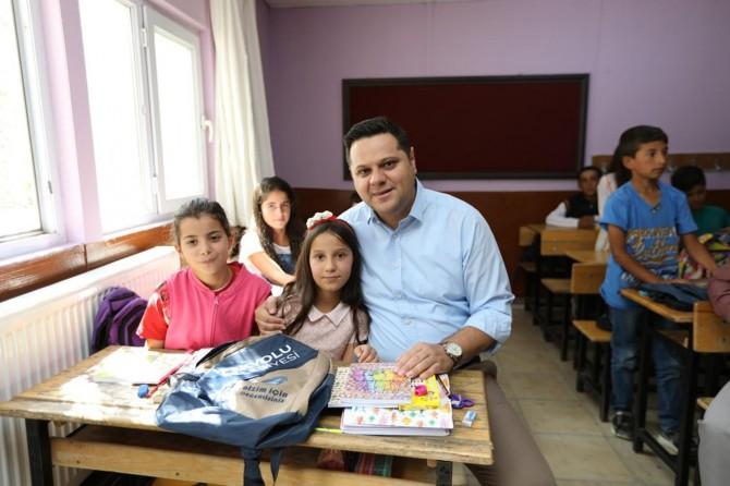 Kırsal mahallelerdeki okullara ziyaret
