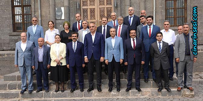 Kültür ve Turizm Bakanı Mehmet Nuri Ersoy, Diyarbakır'da
