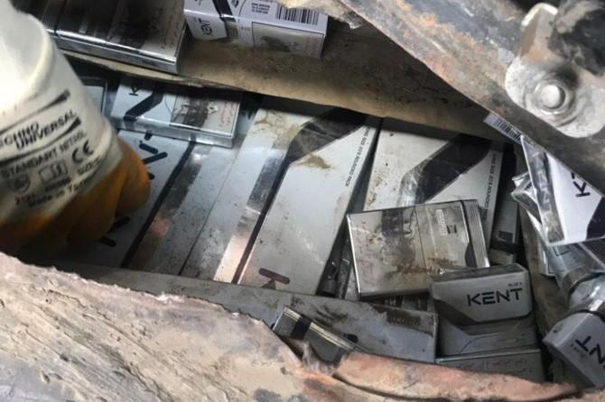 Van'da gümrük kaçağı sigara ele geçirildi
