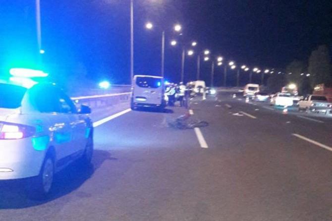 Ankara Karapürçek mevkiinde trafik kazası: 1 ölü, 2 yaralı