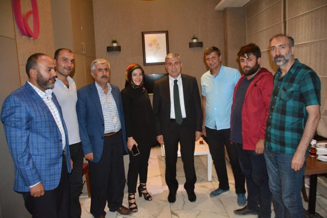 BİGACEM Yönetim Kurulu Başkan Aksoy'u ziyaret etti