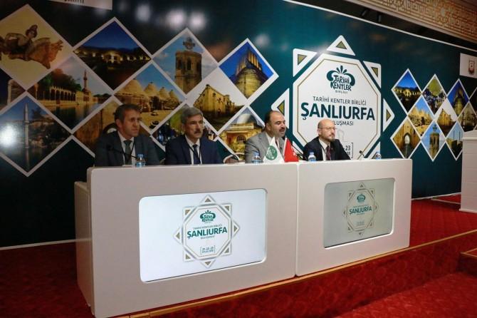 Tarihi Kentler Birliği'nin Toplantısı Şanlıurfa'da gerçekleşti