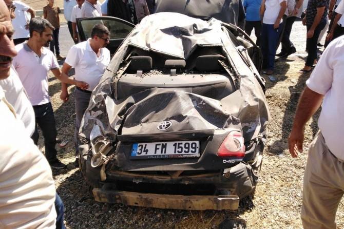 Batman Kozluk'ta aşırı hız ve dikkatsizlik kazaya neden oldu