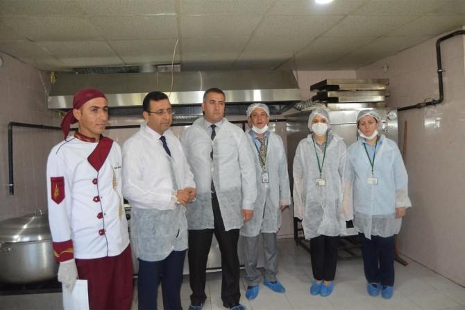 Siirt'te okul kantinleri ve yemekhanelerin denetimleri yapıldı