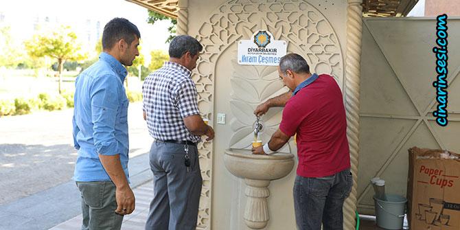 Diyarbakır'da İkram Çeşmelerinde çorba dağıtımı başladı