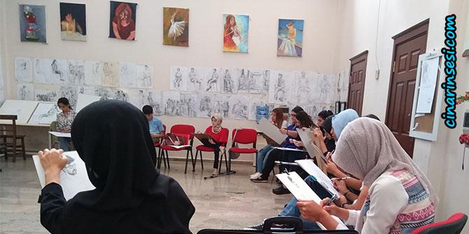 Büyükşehir Belediyesinin resim kursu üniversitenin yolunu açtı