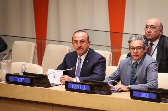 Bakan Çavuşoğlu: Mültecilere İlişkin Küresel Mutabakat'ı önemsiyoruz