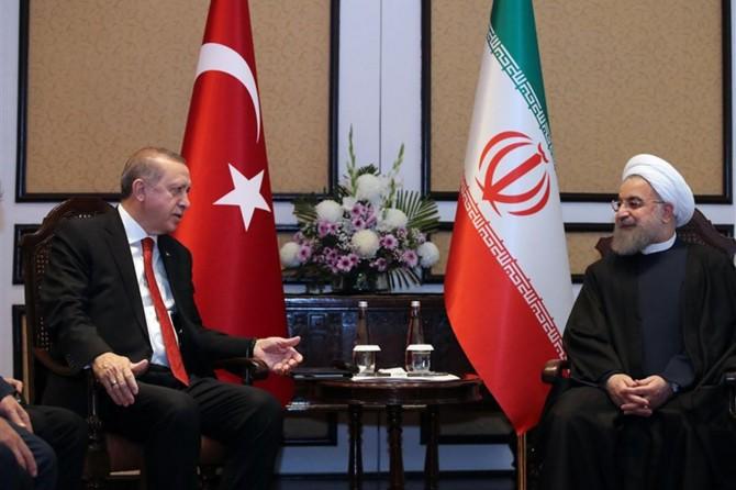 Cumhurbaşkanı Erdoğan ile Ruhani bir araya geldi