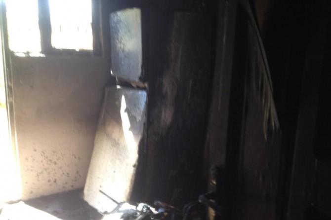 Nusaybin'de ev yangını