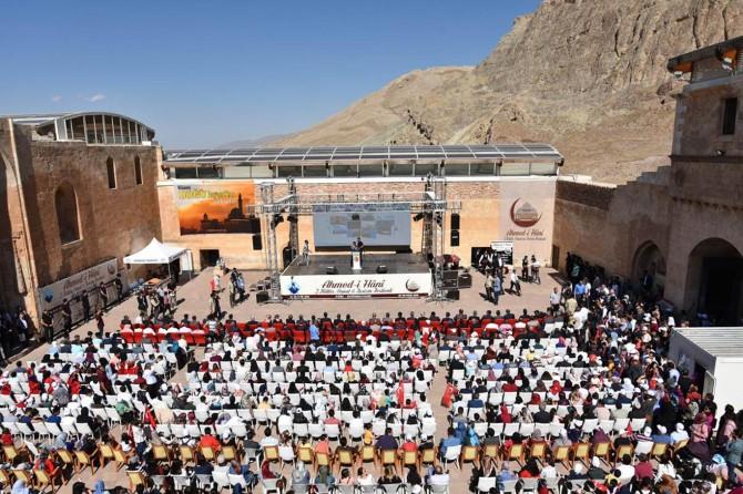 Ağrı Doğubayazıt'ta Ahmed-i Hani festivali düzenlendi