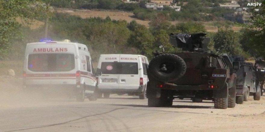 İdlib'de 1 asker hayatını kaybetti, 2 asker yaralandı