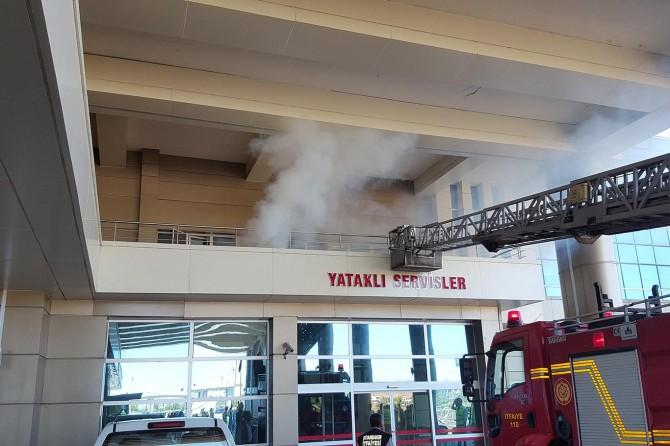 Bismil Devlet Hastanesinde yangın tatbikatı
