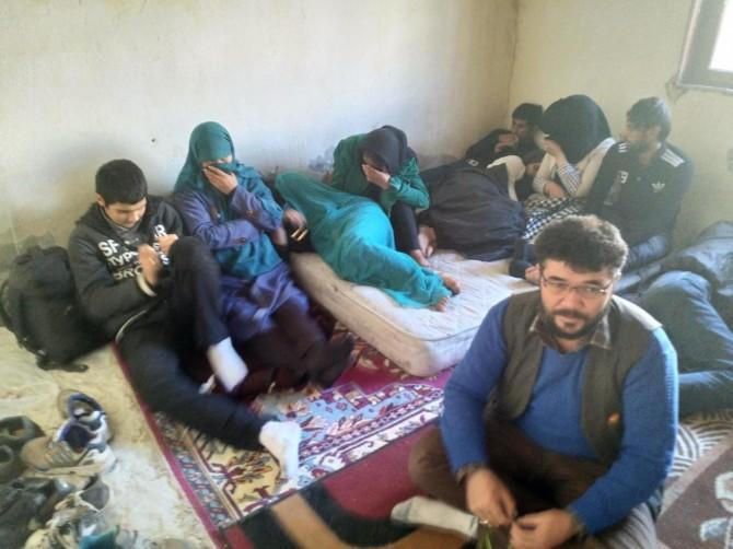 Van'da 118 yabancı uyruklu göçmen yakalandı