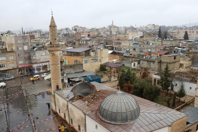 PKK'nin hedef aldığı Çalık Camii aralık ayında ibadete açılacak
