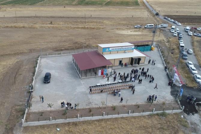 Van'da katı atık istasyonu ve mezbahane açılışı