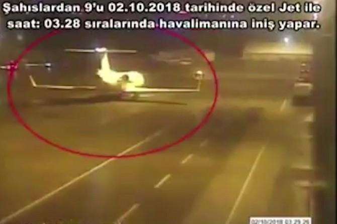 Suudi Arabistan'dan gelen 15 kişilik ekibin görüntüsü ortaya çıktı