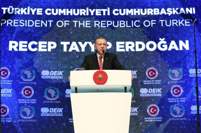 African countries have stood by the Palestinian people: President Erdoğan