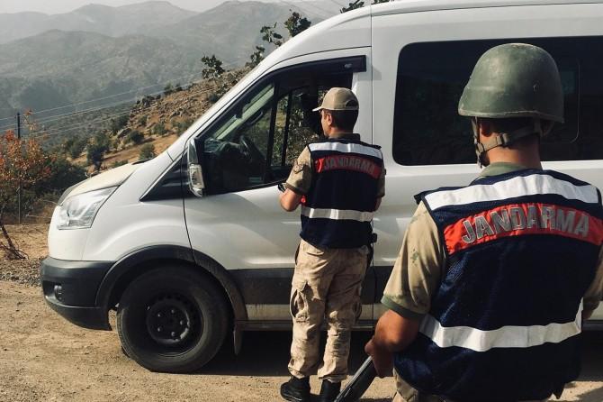 Siirt'te güven ve huzur uygulaması yapıldı