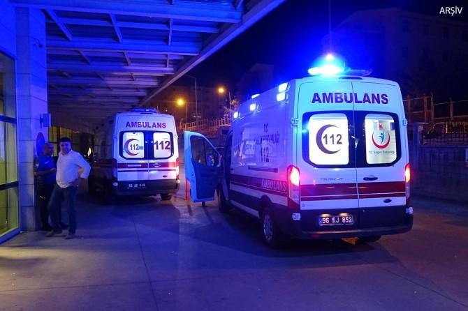 Siirt'te Kooperatif Mahallesinde kardeşler arasında silahlı kavga: 1 yaralı