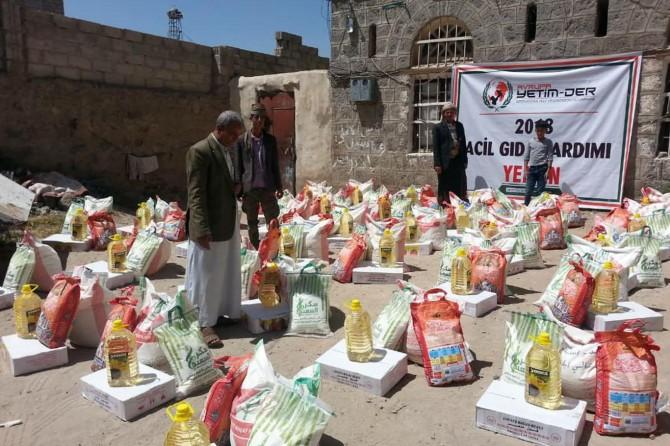 Avrupa Yetim-Der açlıktan ölümlerin yaşandığı Yemen'de