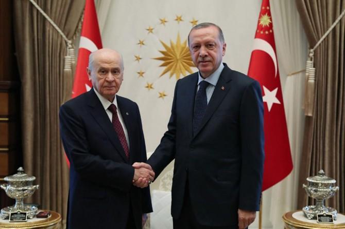 Erdoğan ve Bahçeli yarın görüşecek