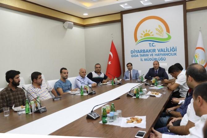 Diyarbakır'da sertifikalı tohum toplantısı