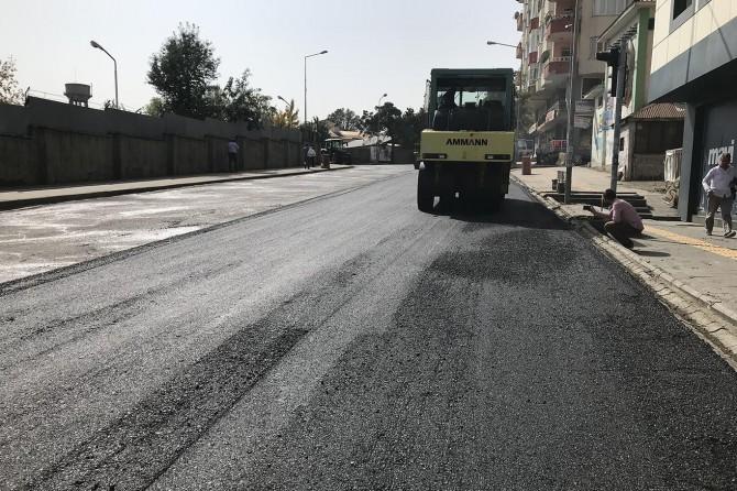 Bingöl'de asfalt çalışmaları devam ediyor