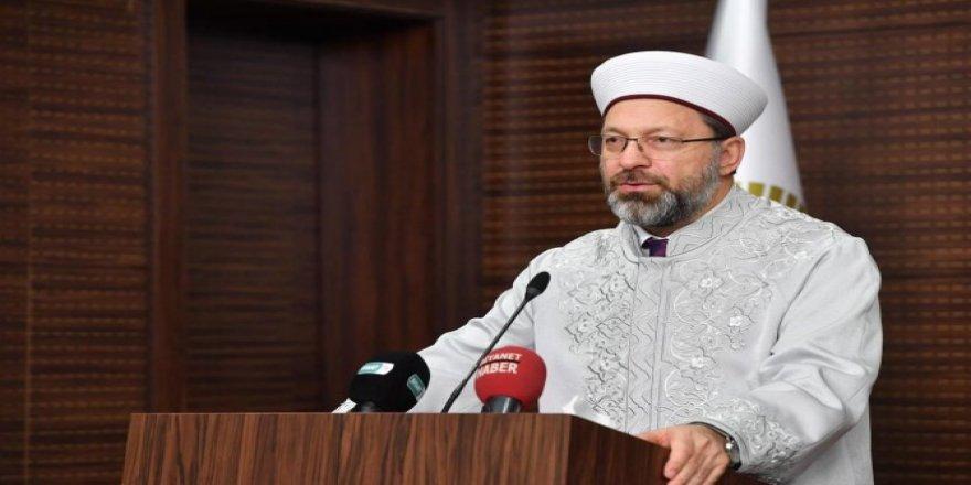 Erbaş: Kur'an-ı Kerim bizi kötülüklerden uzaklaştırır