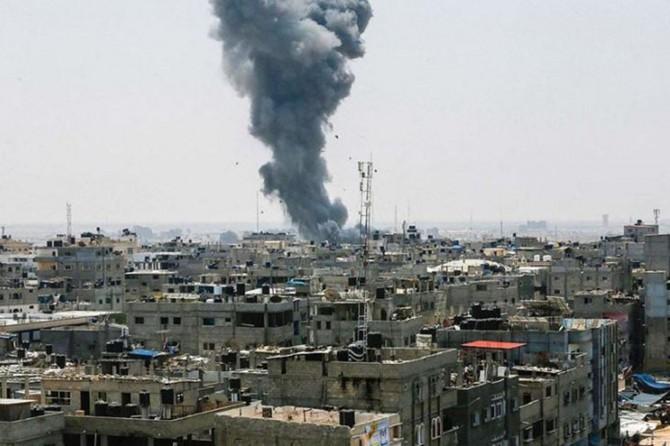 Siyonistlerin hava saldırısında bir Filistinli şehid oldu