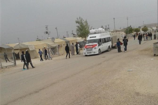 Süleyman Şah kampında kalan Suriyeliler tahliye ediliyor