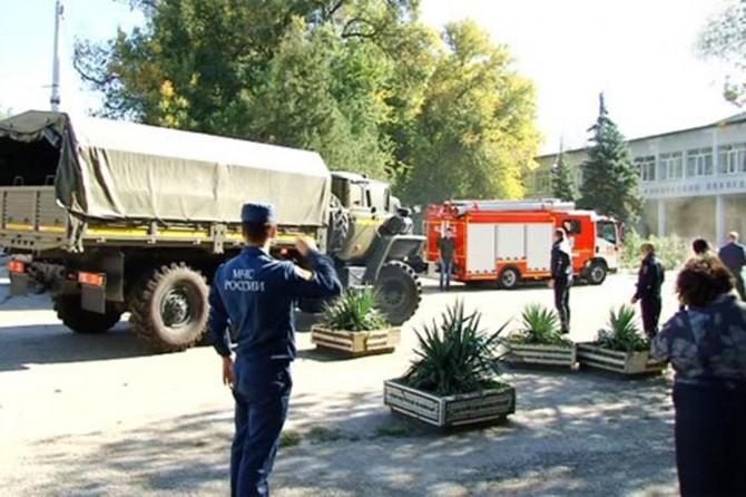 Kırım'da okulda patlama: 18 ölü 50 yaralı