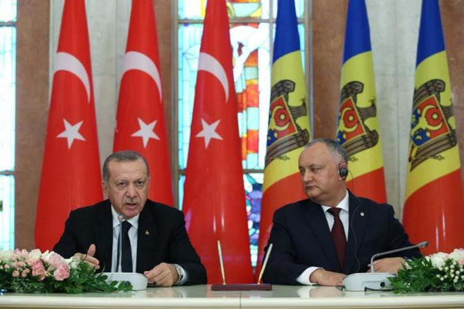 Cumhurbaşkanı Erdoğan: FETÖ Moldova'ya da sızabilir
