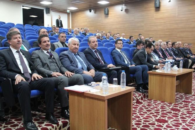 Van'da 2018 yılının son dönem İl Koordinasyon Kurulu toplantısı yapıldı