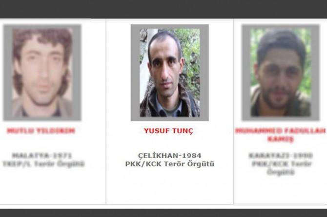 Gri listedeki PKK'li Adıyaman'da öldürüldü