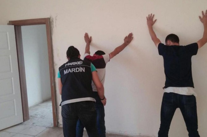 Mardin'de uyuşturucu operasyonu: 10 tutuklama