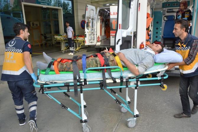 Siirt'te iki ayrı kaza: 5 yaralı
