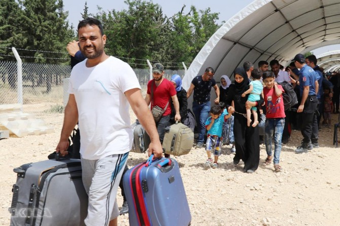56 percent of Syrians want to return to their country