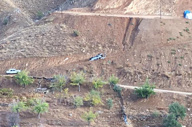 Diyarbakır Çüngüş 'te otomobil takla attı: Bir ölü