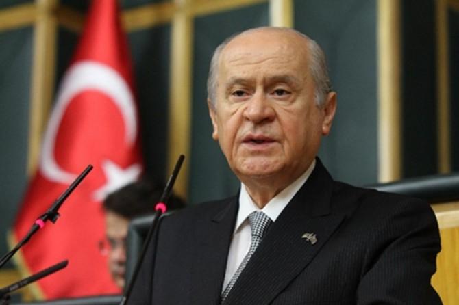 """Devlet Bahçeli'den Erdoğan'ın """"af"""" açıklamalarına tepki"""