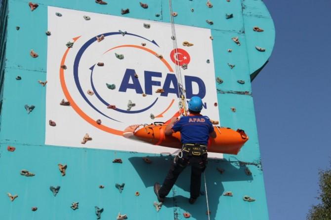 AFAD: Personelimiz kendini profesyonelce yetiştiriyor