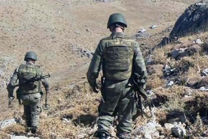 Operasyonlarda bir asker hayatını kaybetti