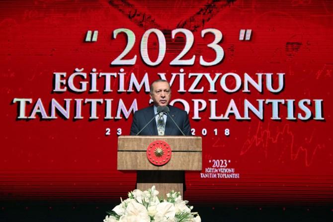 Cumhurbaşkanı Erdoğan: Eğitimimiz küresel seviyede iddia sahibi olmalıdır