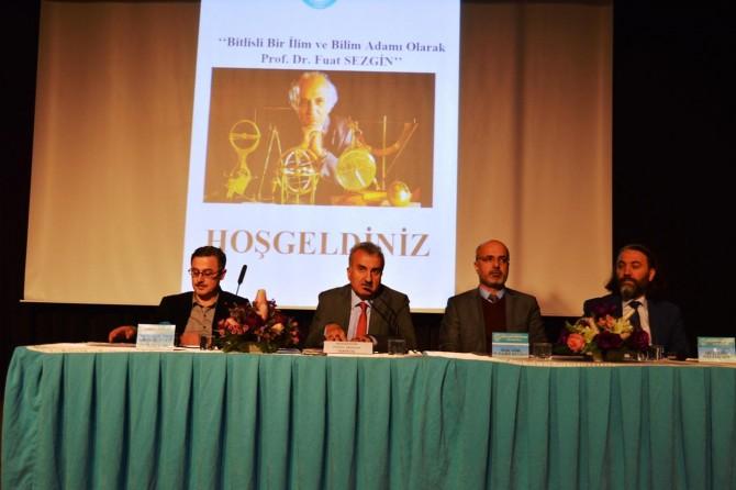 Bitlisli bir ilim ve bilim adamı olarak Prof. Dr. Fuat Sezgin