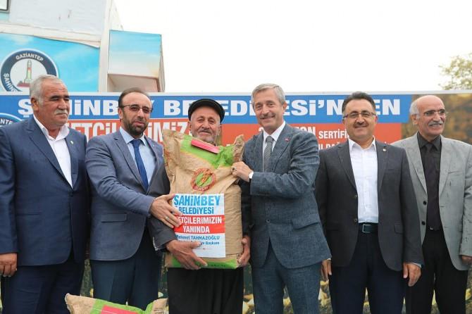 Gaziantepli çiftçilere gübre desteği