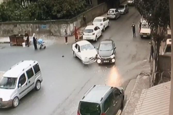 Diyarbakır'da kural ihlali kazaya neden oldu