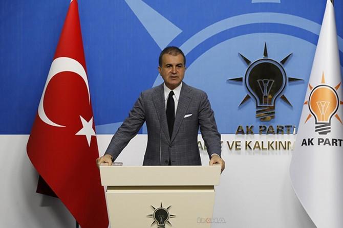 AK Parti Sözcüsü Çelik'ten gündeme ilişkin önemli açıklamalar