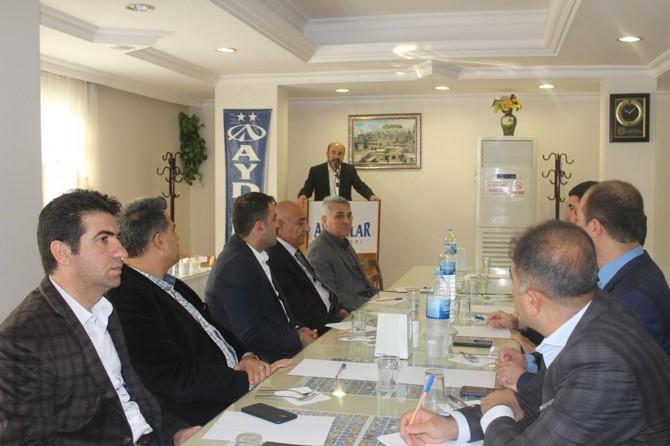 """Nusaybin'de """"Mevlid-i Nebi"""" etkinliği toplantısı"""