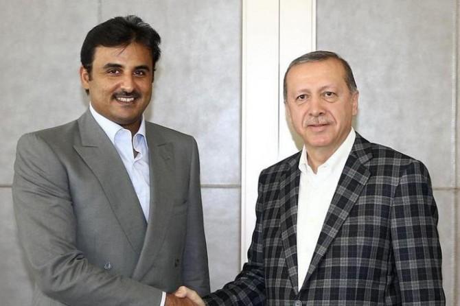 Katar emiri yarın Türkiye'ye geliyor